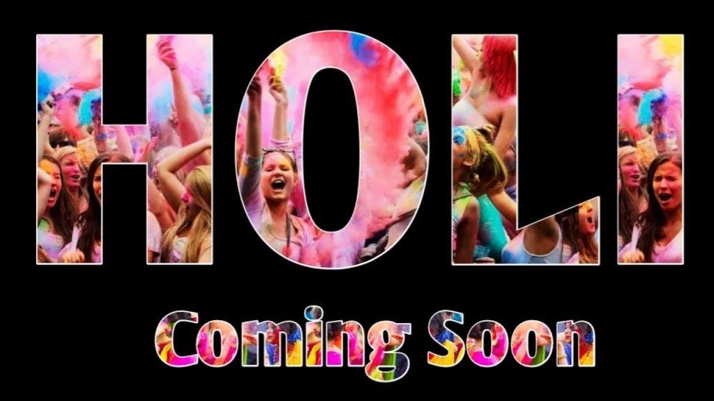 Holi Coming Soon Status