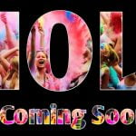 Holi Coming Soon Status