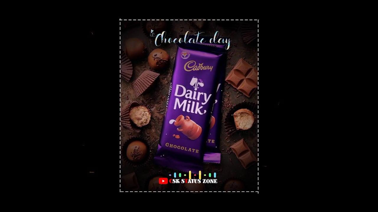 chocolate day whatsapp status