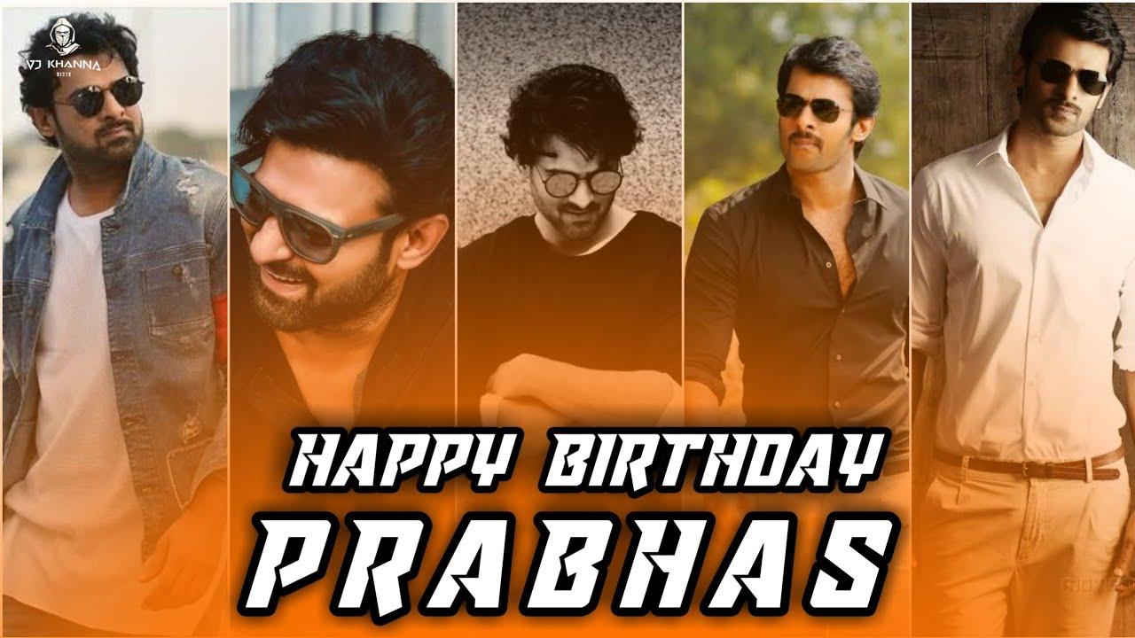 Prabhas Birthday Status