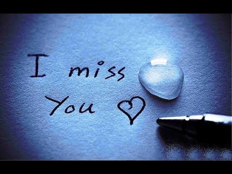 miss you baby status