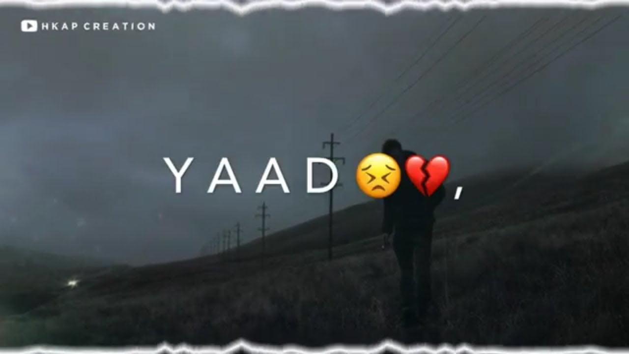 sad romantic video status