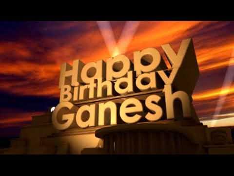 happy birthday ganesh status
