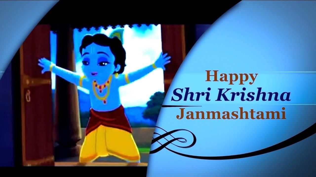 happy janmashtami status sharechat