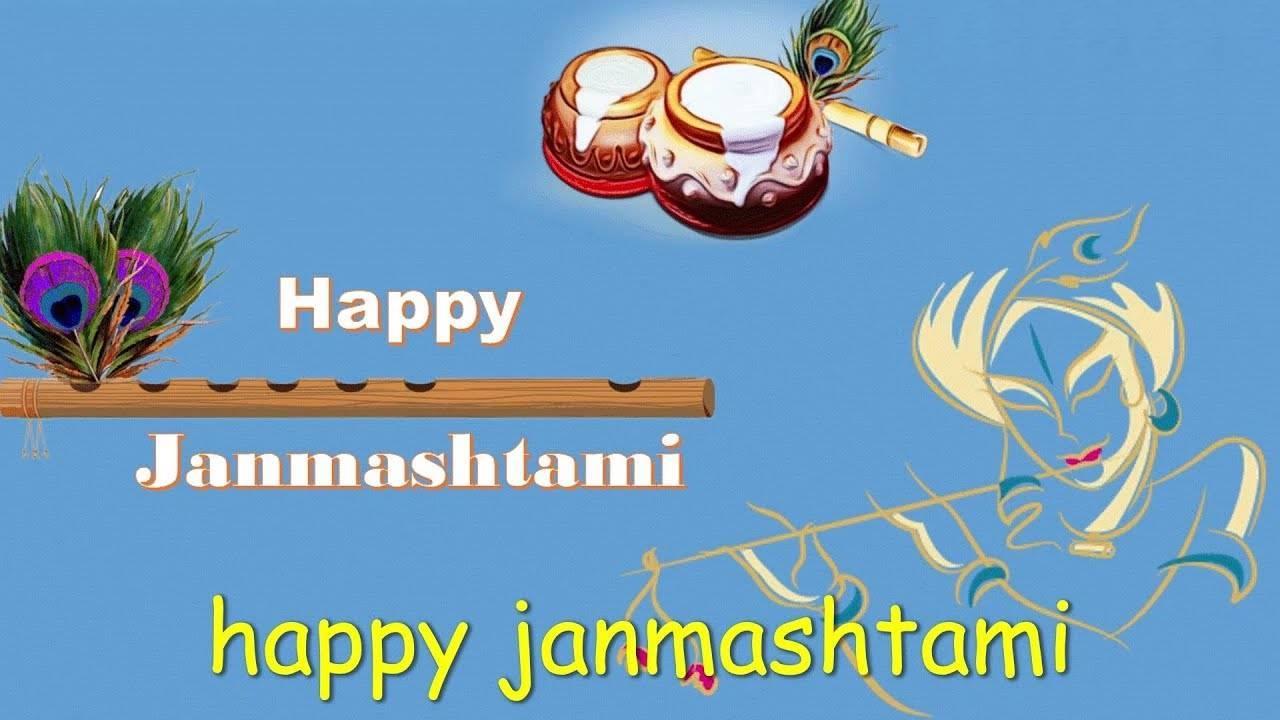 happy janmashtami status video