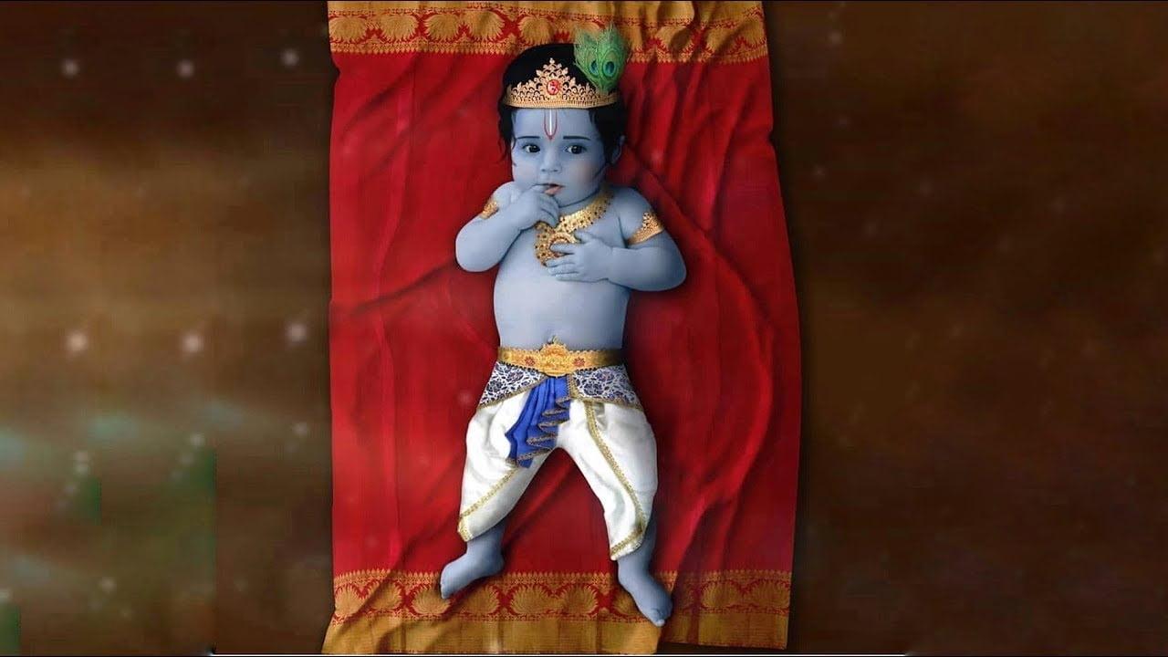 sree krishna jayanthi status video download