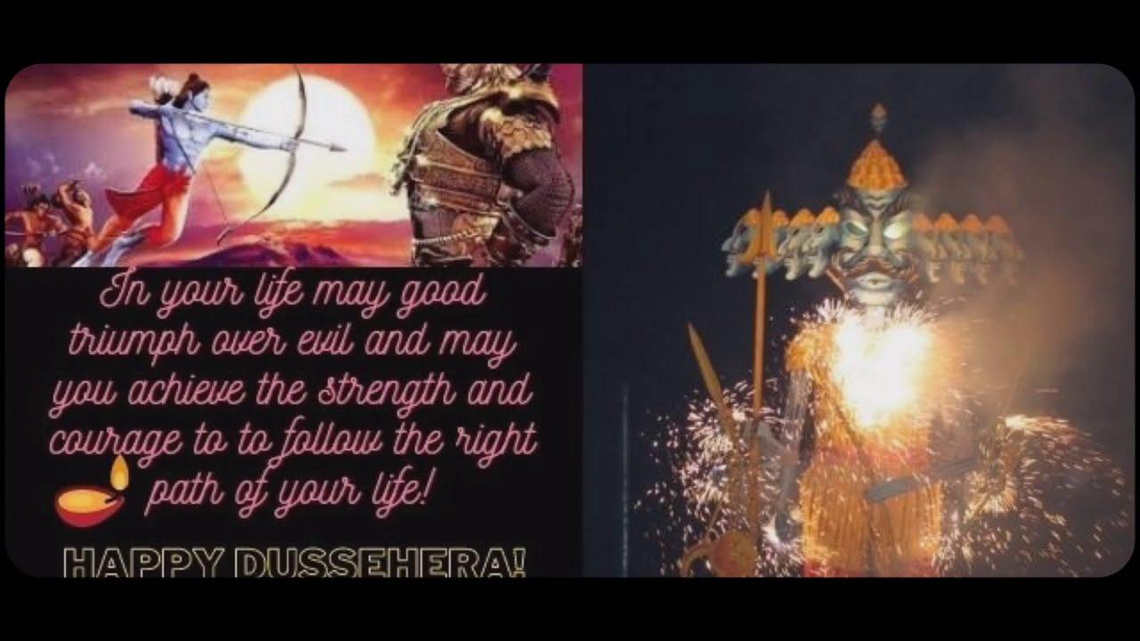 dussehra 2020 video status download