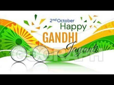 Gandhi Jayanti Ka Status Video
