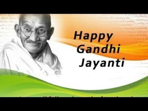 Gandhi Jayanti Status 2020