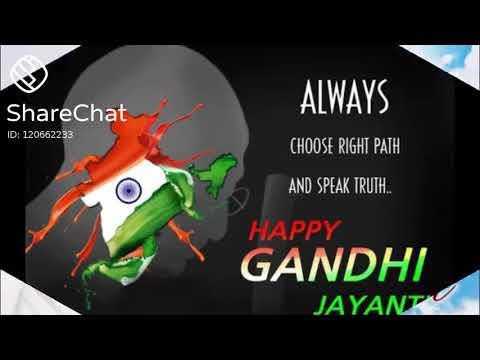 gandhi jayanti status sharechat