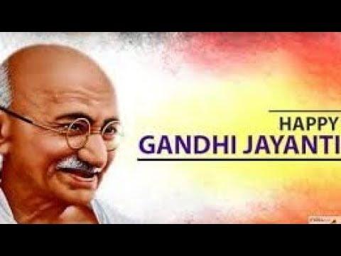 Gandhi Jayanti Video Status