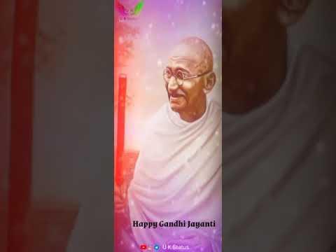 Gandhi Jayanti Whatsapp Status Share Chat