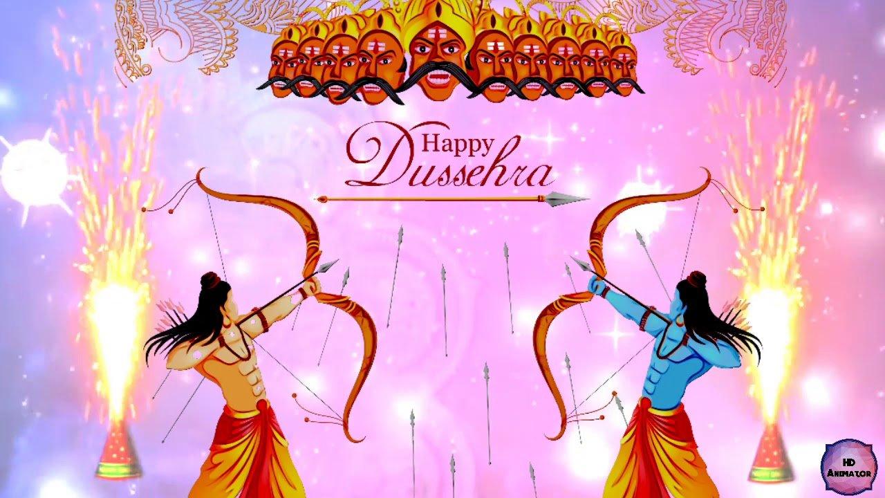happy dussehra video status download