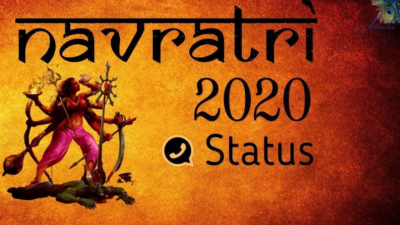 navratri video status download 2020