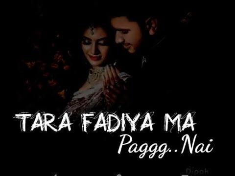 tara fadiya ma pag nahi melu navratri status